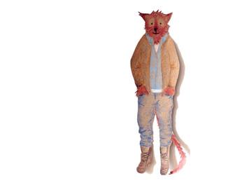 Sabine Rufener Illustration Kinderbuch Collage Märchen kultur@moosseedorf Fuchs