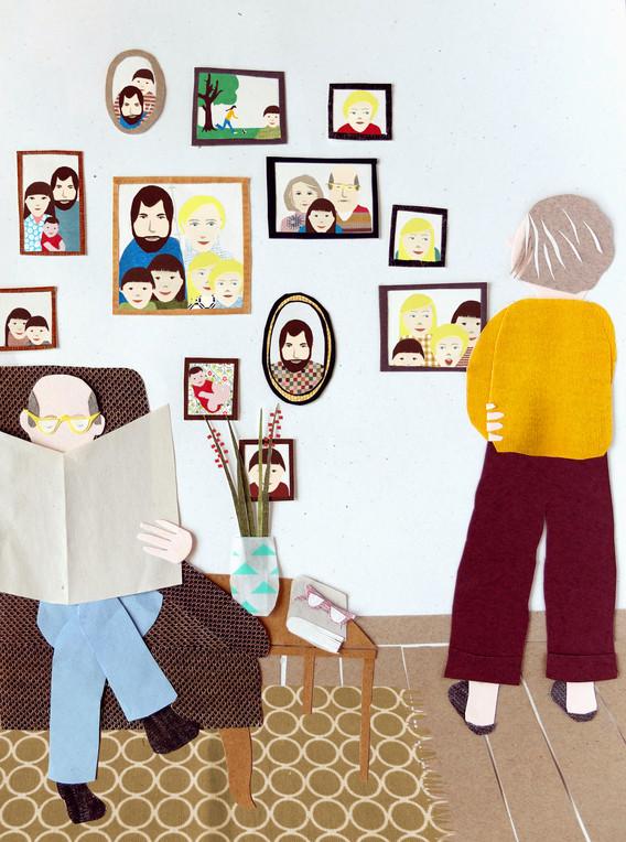 Sabine Rufener Illustration Patchwork-Grosseltern wireltern