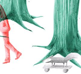 Sabine Rufener Illustration Kindheit Buchillustration Einsamkeit