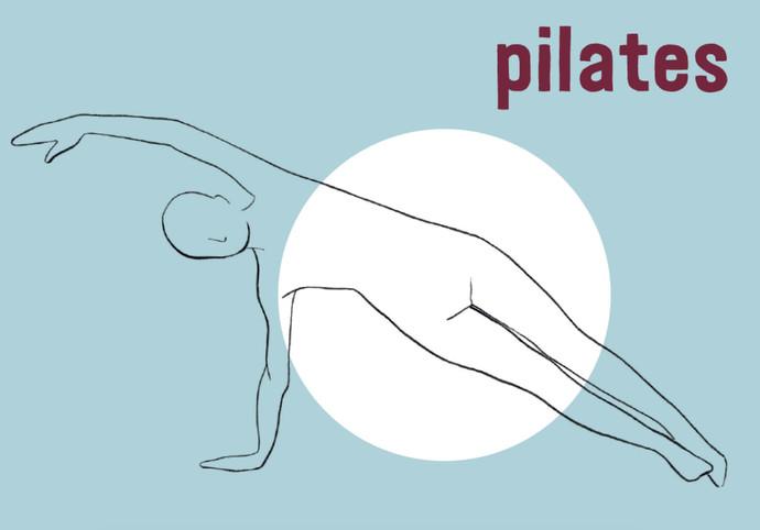 Sabine Rufener Illustration Pilates Christina Sutter