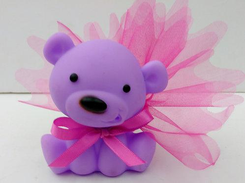 Ourson violet