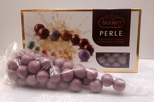 Dragées perle noisette couleur violet