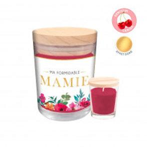 """Bougie parfumée """"Ma formidable Mamie"""""""