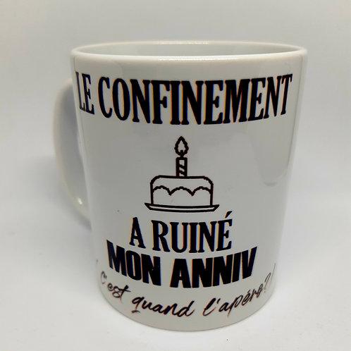 Mug confinement
