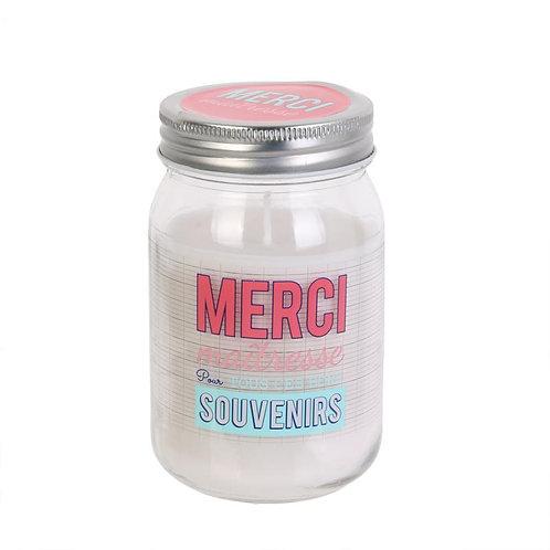 Bougie parfumée Merci