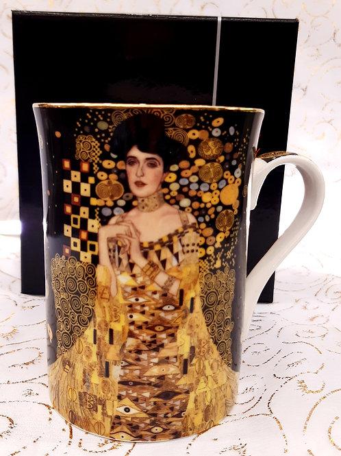"""Mug """" Portrait d'Adèle Bloch-Bauer"""" de Klimt"""