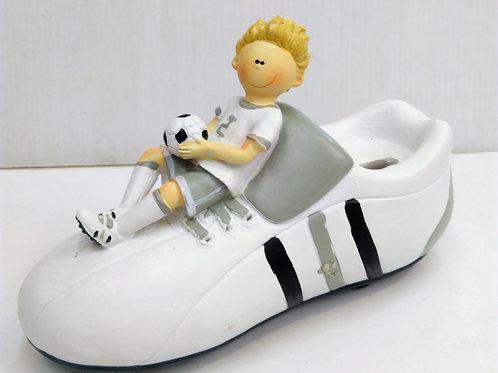 Tirelire chaussure foot