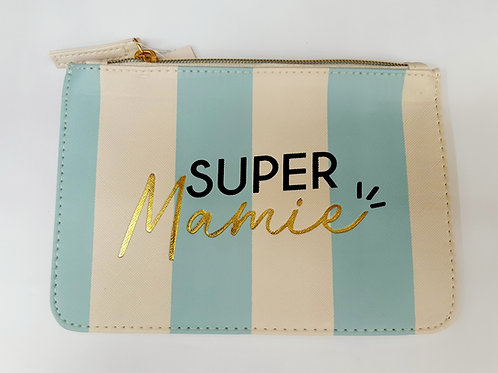 """Pochette maquillage """"Super Mamie"""""""