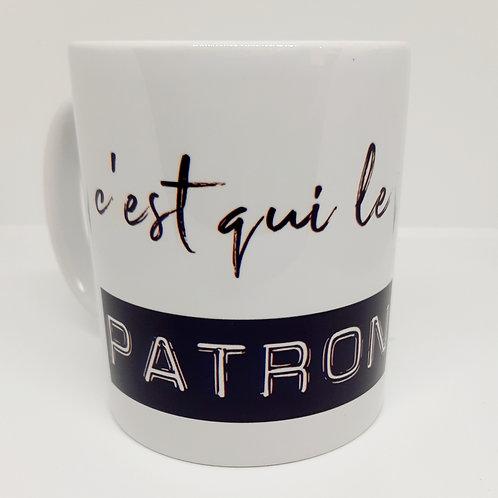 "Mug ""C'est qui le patron?"""