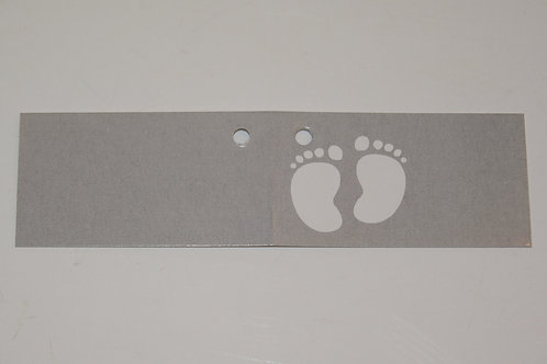 Etiquette pieds