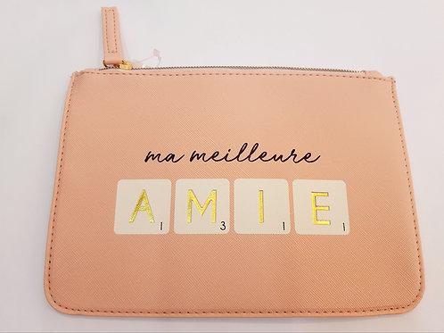 "Pochette maquillage ""Ma mailleure Amie"""