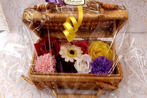 Valisette Fleurs de savon