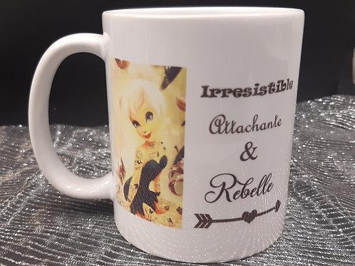 Mug Fée Clochette Rebelle