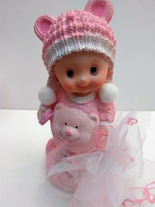 Bébé bonnet 18cm