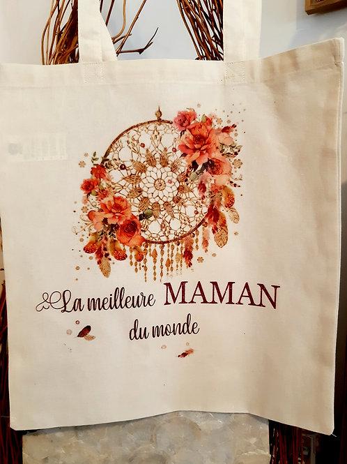 """Tote Bag coton """" Maman"""""""