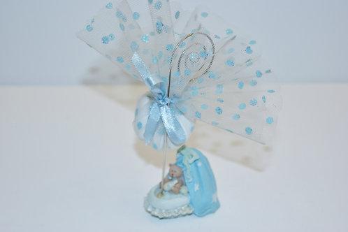 Pince berceau bleu
