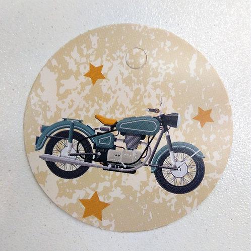 Etiquette moto
