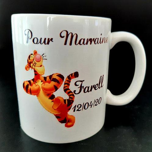 Mug personnalisable Tigrou