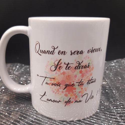 Mug l'Amour de ma vie