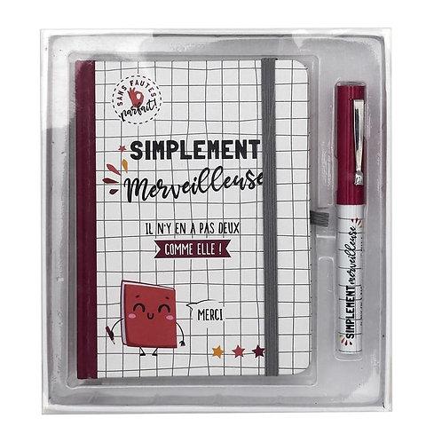 Carnet + stylo