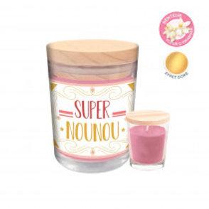 "Bougie parfumée ""Super Nounou"""