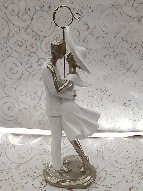 Figurine Couple avec pince photo