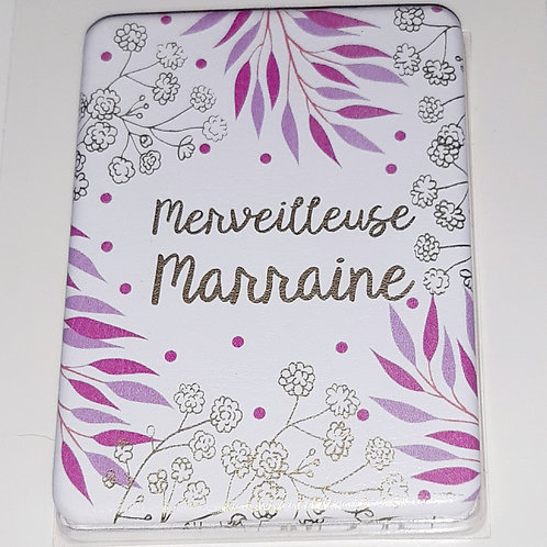 "Miroir de poche  ""Merveilleuse Marraine"""