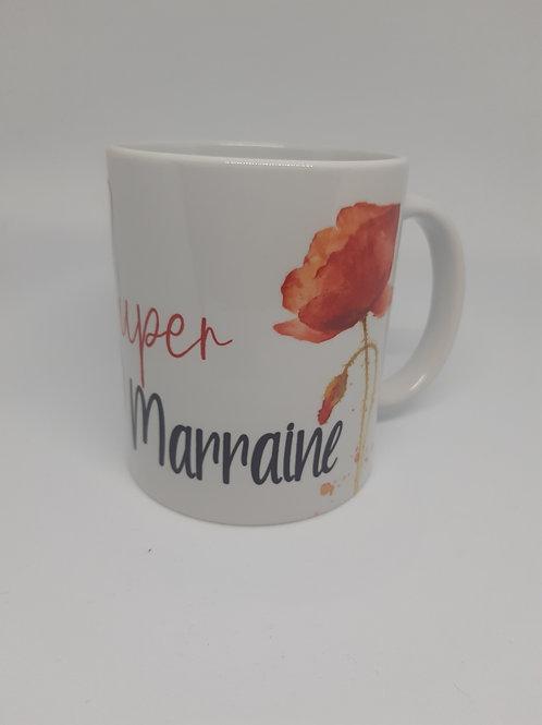 "Mug ""Super Marraine"""