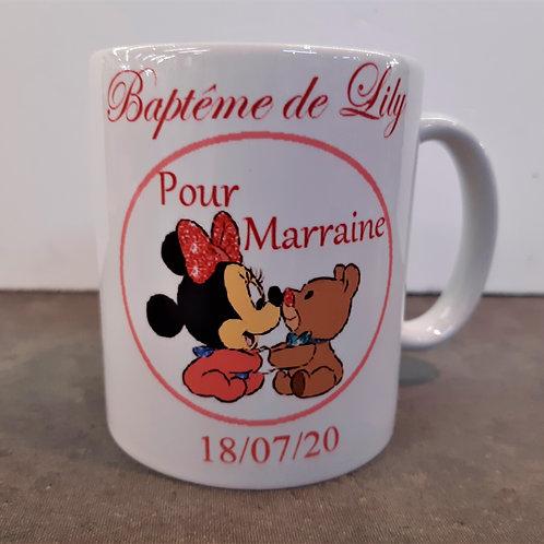 Mug personnalisable Minnie baby