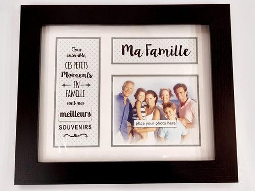 "Cadre ""Ma Famille"""