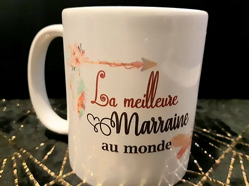 Mug la meilleure Marraine du monde