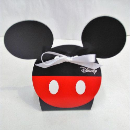 Boite Mickey rouge et noire