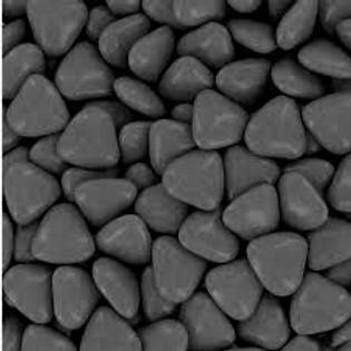 250 grs Dragées Mini Coeur en chocolat Noir