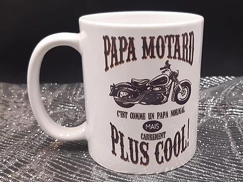 Mug Papa Motard
