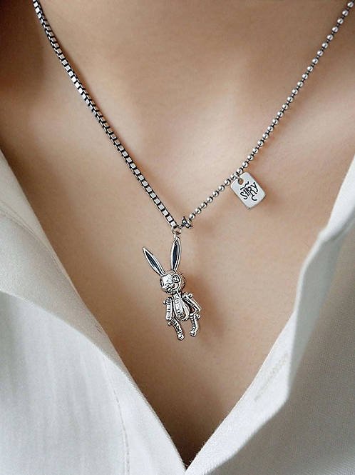 Collier Lapin rebelle