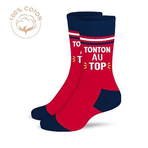 """Chaussettes """"Tonton au top"""""""