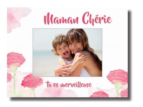 """Cadre """"Maman chérie"""""""