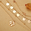 Thumbnail: Collier multi rangs dorés