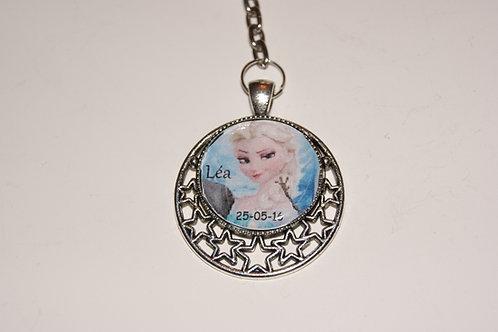 Porte clé personélisé Elsa