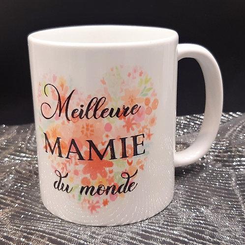 Mug de la meilleure Mamie du monde