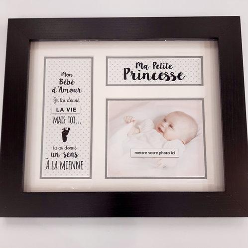 "Cadre ""Ma petite princesse"""