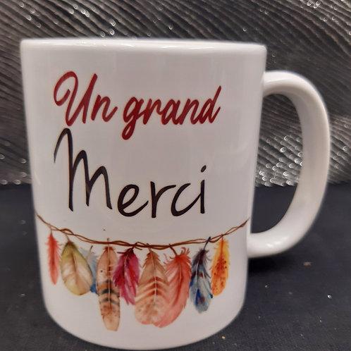 """Mug """"Un grand Merci"""""""
