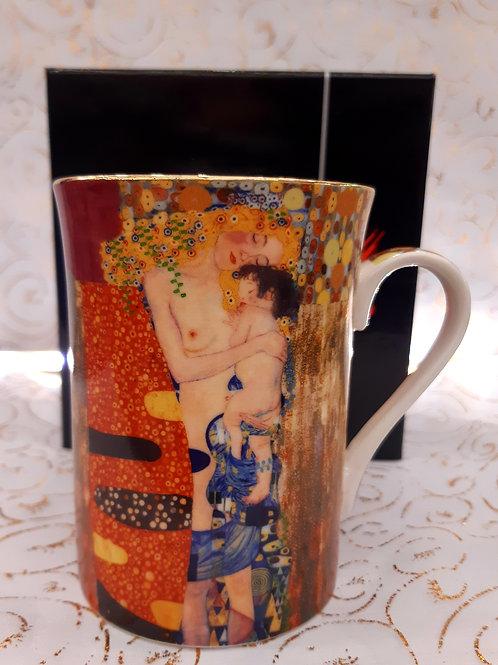 """Mug """"La mère et l'enfant"""" de Klimt"""