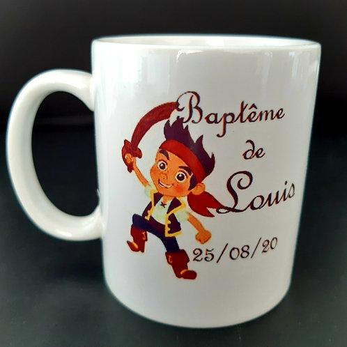 Mug personnalisable Pirate