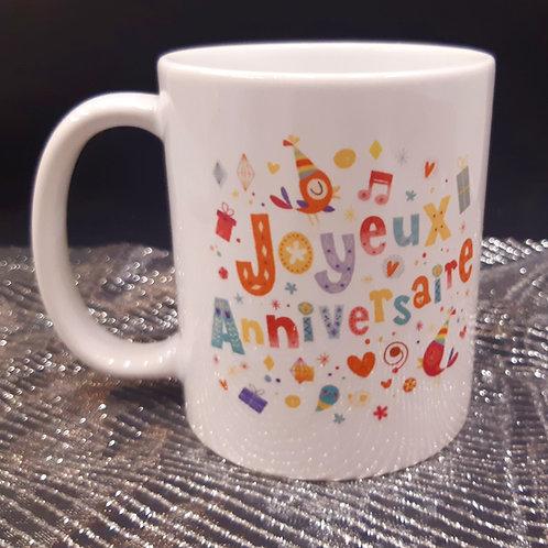 Mug ANNIVERSAIRE