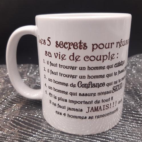 Mug secrets vie de couple