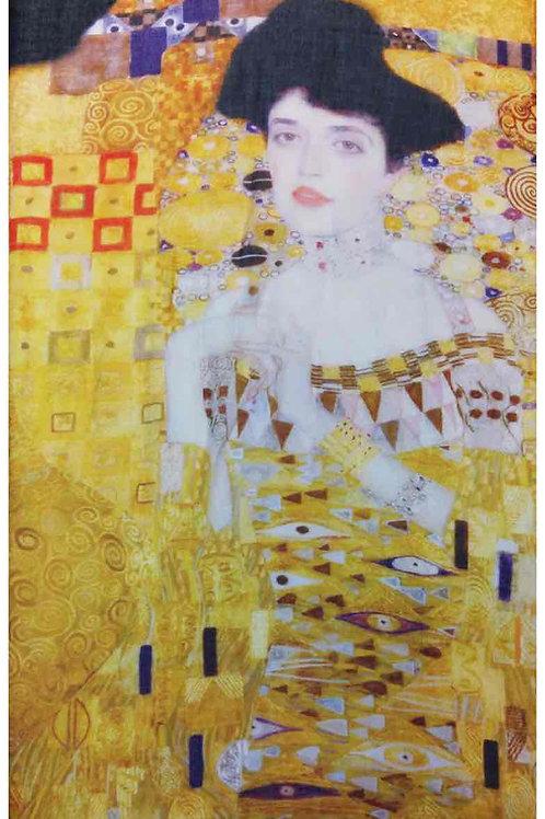 """Echarpe """" portrait d'Adèle Bloch-Bauer """" de Klimt"""