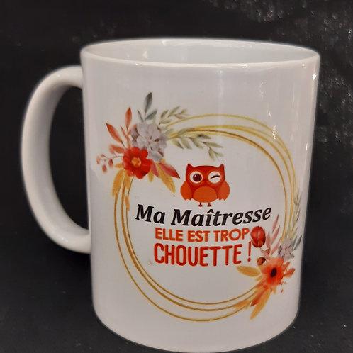 Mug Maîtresse Chouette