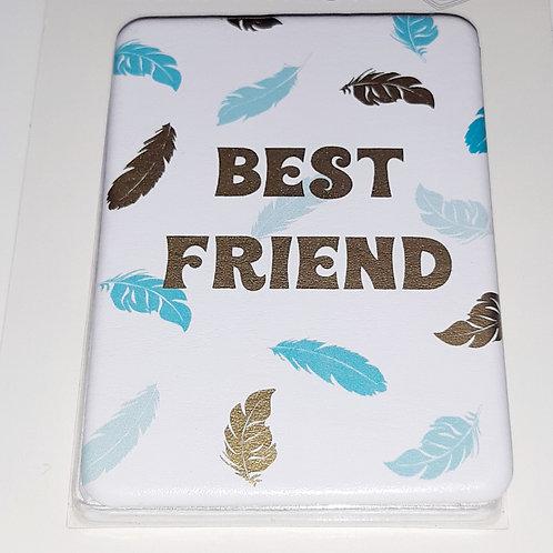 "Miroir de poche  ""Best friends"" (meilleures amies)"