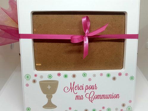"""Cadre """"Merci pour ma communion"""""""